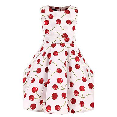 Toddler Girls' Floral Floral Sleeveless Dress / Cotton