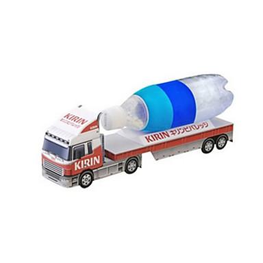 3D-puslespill Puslespill Papirkunst Trailer simulering GDS Klassisk Truck Barne Unisex Gave