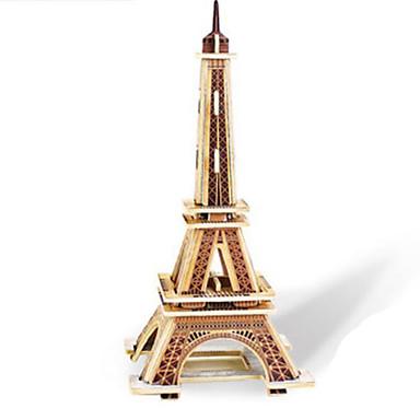 Robotime 3D Puzzle Jigsaw Puzzle Wood Model Tower Famous buildings DIY Wood Classic Kid's Unisex Gift