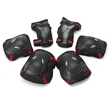 Kids' Adults' Protective Gear Knee Pads + Elbow Pads + Wrist Pads for Cycling Skateboarding Inline Skates Roller Skates Longboards Eases