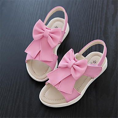 Women's Shoes PU Spring Comfort Sandals For Casual Blushing Pink