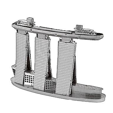 voordelige 3D-puzzels-3D-puzzels Legpuzzel Metalen puzzels Toren DHZ Metallic Roestvast staal Kromi Klassiek Kinderen Volwassenen Unisex Jongens Meisjes Speeltjes Geschenk