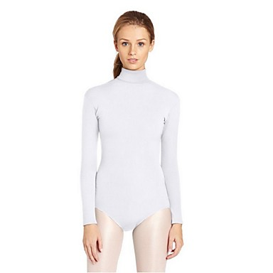 Zentai Suits Morphsuit Outfits Bikini Ninja Cosplay Zentai Cosplay Costumes Black White Blue Ink Blue Solid Leotard Leotard/Onesie Zentai