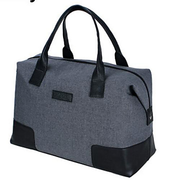 Women Bags All Seasons Linen Travel Bag for Casual Outdoor Camel Gray Blushing Pink