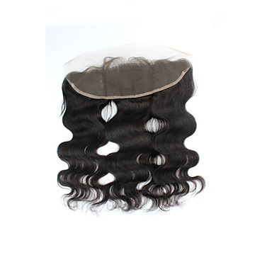 Body Wave 4x13 Closure Swiss Lace Human Hair Free Part