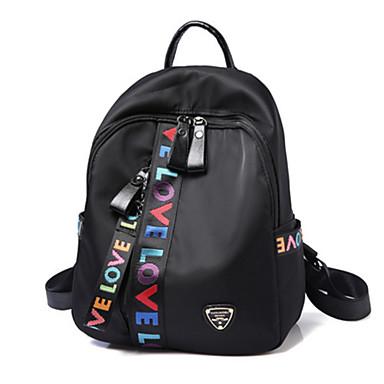 Women's Bags PU Shoulder Bag for Outdoor / Office & Career Black