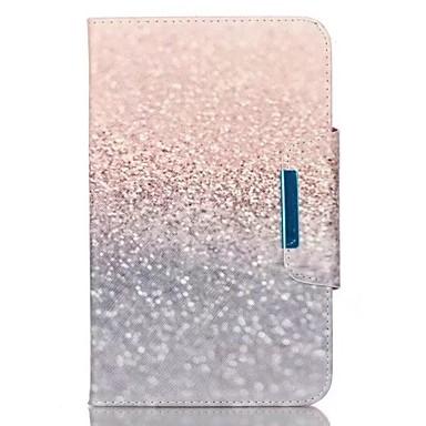 Capinha Para Samsung Galaxy / A Tab 9.7 Carteira / Porta-Cartão / Com Suporte Capa Proteção Completa Mármore Rígida PU Leather para Tab 4 10.1 / Tab 4 8.0 / Tab 4 7.0