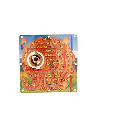 Pöytäpelit Labyrintti- ja logiikkapelit Sokkelo Magneettiset labyrintit Lelut Magneetti PVC Rauta Pieces Lapset Lahja