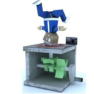Quebra-Cabeças 3D Maquetes de Papel Artesanato de Papel Brinquedos de Montar Faça Você Mesmo Clássico Unisexo Dom