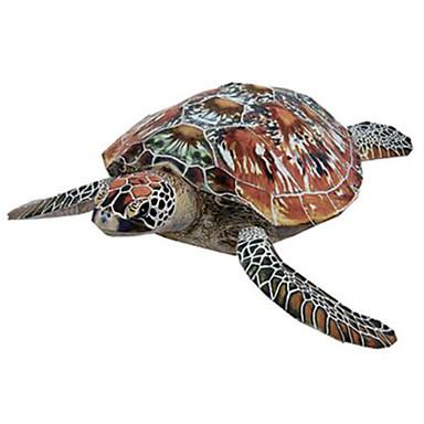 3D palapeli Paperimalli Pienoismallisetit Neliö Eläimet DIY Kova kartonki Klassinen Poikien Unisex Lahja