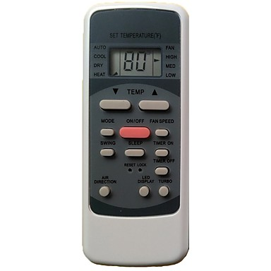 HA-09 Replacement for MILEXUS Air Conditioner Remote Control Model Number RG51M5/EU