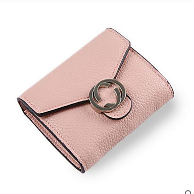 Women Coin Purse PU All Seasons Casual Outdoor Round Zipper White Blushing Pink Gray