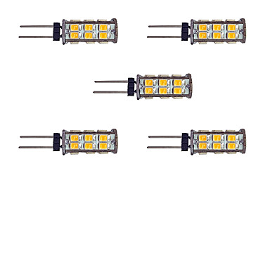 2W G4 LED Bi-pin Lights 26 leds SMD 2835 Warm White White 145lm 3000-3500/6000-6500K DC 12V