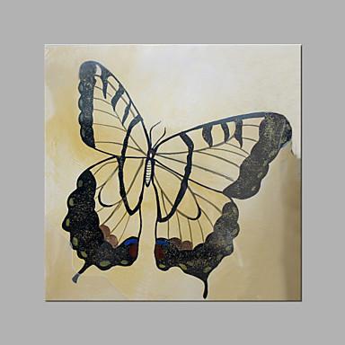 Håndmalte Dyr Kvadrat, Kunstnerisk Lerret Hang malte oljemaleri Hjem Dekor Et Panel