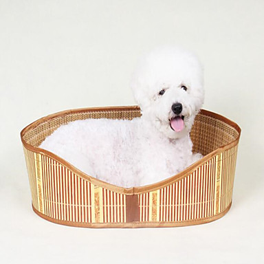 Dog Bed Pet Baskets Solid Waterproof Portable Double-Sided Breathable Foldable  For Pets