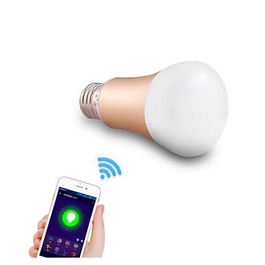 600 E26/E27 LEDスマート電球 A50 24 LED SMD 5050 調光可能 装飾用 WiFi RGB RGBK 交流220から240V