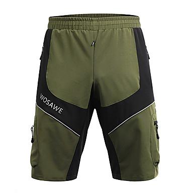 WOSAWE Férfi Kerékpáros nadrág Bike Baggy nadrág / Kerékpáros rövidnadrág / Alsók Kerékpár, Szabadtéri, Fényvisszaverő csíkok Klasszikus