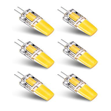 3W G4 LED Bi-Pin lamput T 1 ledit COB Lämmin valkoinen Valkoinen 250lm 3000-3500   6000-6500