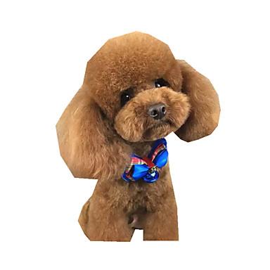 Cachorro Gravata/Gravata Borboleta Roupas para Cães Laço Poliéster Ocasiões Especiais Para animais de estimação Verão Homens Mulheres