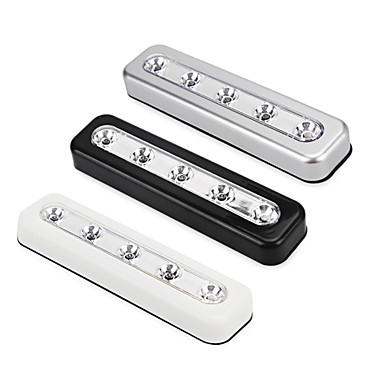 1 pcs YWXLight® Home Lighting Mini 5 LEDs Battery Powered LED Night Light High Quality Closet Lamp Wall Light for Kitchen Cabinets