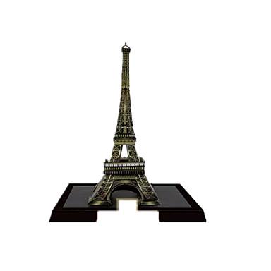 Quebra-Cabeças 3D Maquetes de Papel Artesanato de Papel Brinquedos de Montar Torre Construções Famosas Arquitetura Faça Você Mesmo Ferro
