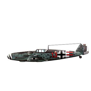 Quebra-Cabeças 3D Maquetes de Papel Brinquedos de Montar Quadrada Aeronave Cartão de Papel Duro todas as Idades
