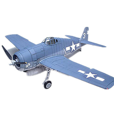 3D Puzzles Paper Model Model Building Kit Square Duck Plane / Aircraft DIY Hard Card Paper Classic All Ages