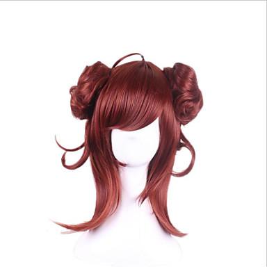 Synthetic Wigs Cosplay Wig Onmyoji Medium Wigs for Women Costume Wigs Capless Wigs
