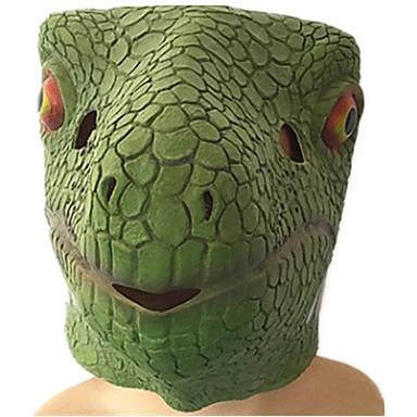 Halloween maszkok Állatmaszk Dinoszaurus Gyík Étel és ital Ragasztó Darabok Uniszex Gyermek Ajándék