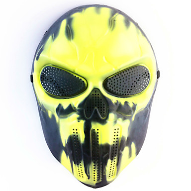 Halloween maszkok Vicces kütyü Halloween-kellékek Álarcosbál maszkok Koponya maszk Újdonság Koponya Étel és ital Műanyag Darabok Uniszex