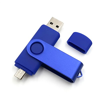 Ants 16 GB USB hordozható tároló usb lemez USB 2.0 Micro USB Műanyag Fém
