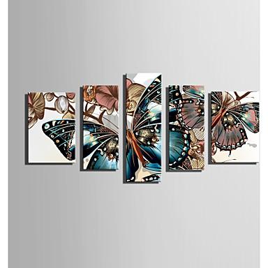 Mintás vászon Öt elem Vászon Függőleges Nyomtatás fali dekoráció lakberendezési