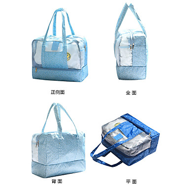 Travel Bag / Waterproof Pouch / Beach Bag Waterproof / Including Water Bladder for Clothes PVC(PolyVinyl Chloride) / Oxford cloth 36*29*18 cm