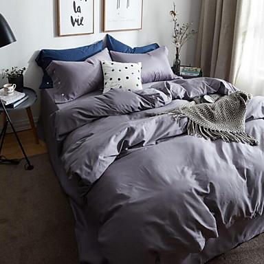 Massiv 4 Stück 1 Stk. Bettdeckenbezug 2 Stk. Kissenbezüge 1 Stk. Betttuch