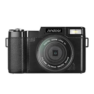 Andoer r1 1080p 15 képkocka / mp teljes hd 24mp digitális fényképezőgép cam videokamera 3.0 forgatható LCD kijelző rázkódásgátló 4x