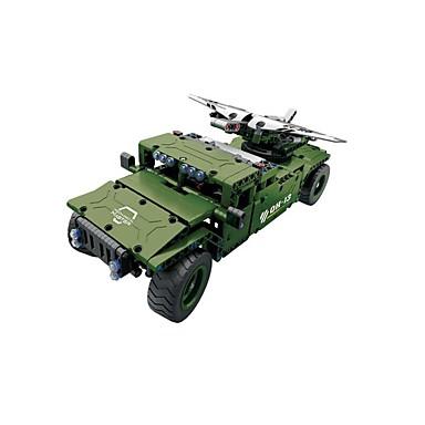 Távirányítós játékok / Játékautók / Építőkockák Tank / Harcos Távirányító / DIY Fiú Ajándék