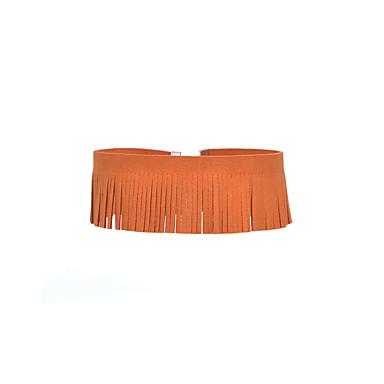abordables Collier-Collier Choker / Ras de Cou Femme Mode Orange Marron Rouge Foncé Colliers Tendance Bijoux pour Quotidien Décontracté Plein Air