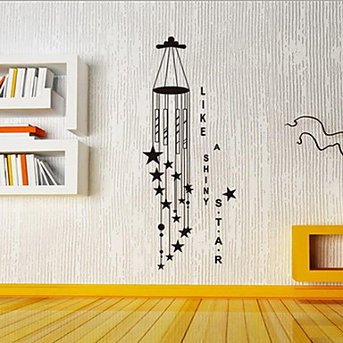 Landschaft Wand-Sticker Flugzeug-Wand Sticker Dekorative Wand Sticker Stoff Haus Dekoration Wandtattoo