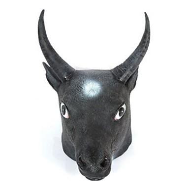 voordelige Maskers voor de feestdagen-Halloweenmaskers Dierenmasker Latex Kumi Liima Stier Horrorthema Unisex