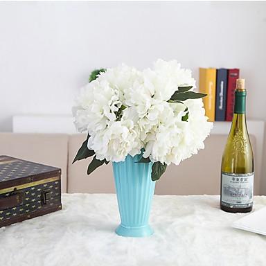 Művirágok 2 Ág Európai stílus Bazsarózsák Asztali virág