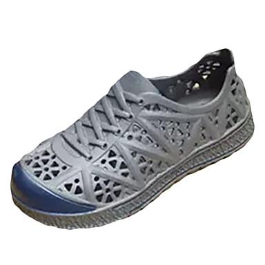 Férfi cipő Gumi Nyár Kényelmes Szandálok mert Hétköznapi Fehér Fekete Szürke Kék