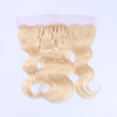 Beata Hair Brazil haj 4x13 lezárása Hullámos haj / Klasszikus Ingyenes rész Svájci csipke Remy haj / Emberi haj Napi