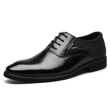 Férfi cipő Bőr Tavasz / Ősz Kényelmes / Formai cipő Félcipők Fekete / Barna / Formális cipők