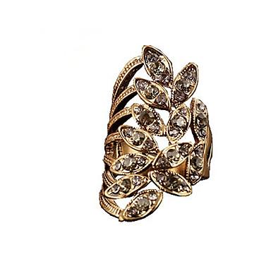 Femme Alliage Mode Bagues Tendance Bijoux Dorée Argent Bronze pour Mariage Soirée Cadeau Quotidien