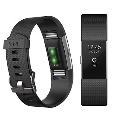 Pulseiras de Relógio para Fitbit Charge 2 Fitbit Pulseira Esportiva Fluoroelastômero Tira de Pulso