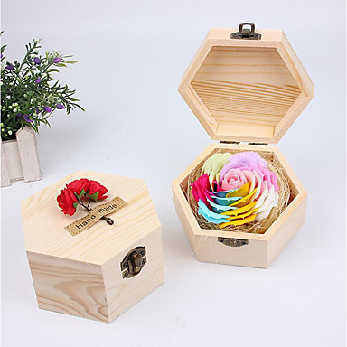 Wedding / Birthday / Event / Party Wooden Bath & Soaps Garden Theme / Floral Theme / Butterfly Theme - 1 pcs