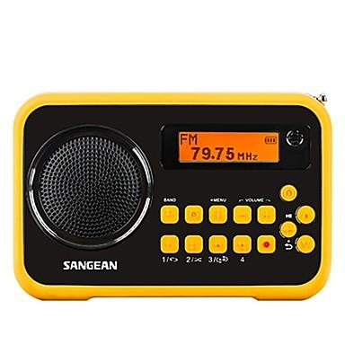 Italker Portable Radio FM Radio Built in out Speaker SD Card