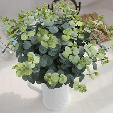Künstliche Blumen 5pcs Ast Europäischer Stil Pflanzen Tisch-Blumen