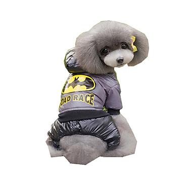 Hund Overall Hundekleidung Atmungsaktiv Neujahr Bestickt Kaffee Blau Kostüm Für Haustiere