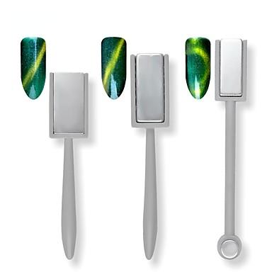 voordelige Nagelgereedschap & Apparatuur-1pc Nail Art Tool DIY-vorm Voor Vingernagel DHZ / Duurzaam Nagel kunst Manicure pedicure Magnetisch / Gepersonaliseerde / Japanse en Koreaanse stijl Dagelijks